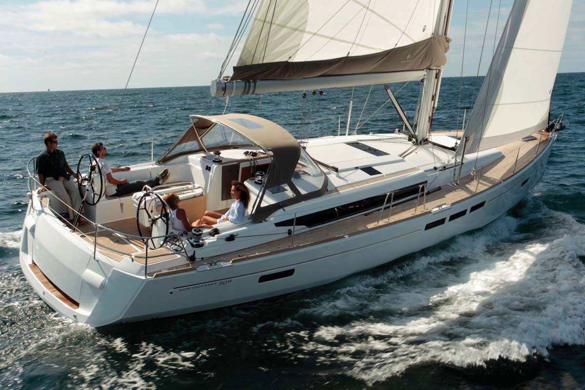 Sailing jeanneau so 509 0001 sailing